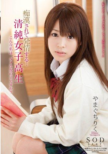 痴漢されて発情する・・・清純女子高生 やまぐちりく [DVD]