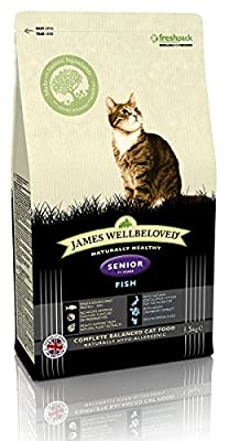 James Wellbeloved Fish and Rice Senior Cat Food