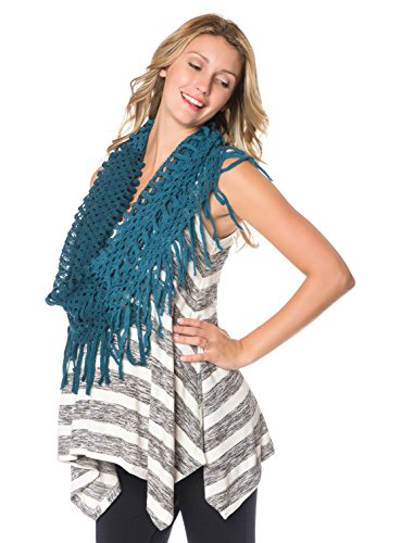 Motherhood Wendy Bellissimo Infinity Fringe Scarf