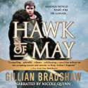 Hawk of May: Down the Long Way #1 (       UNABRIDGED) by Gillian Bradshaw Narrated by Nicole Quinn