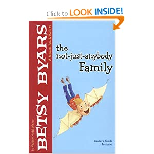 The Not-Just-Anybody Family (Blossom Family Book) Betsy Cromer Byars
