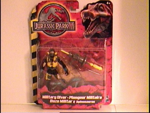 Picture of Hasbro Jurassic Park III Military Diver - Spinosaurus Figure (B001879C1C) (Military Action Figures)