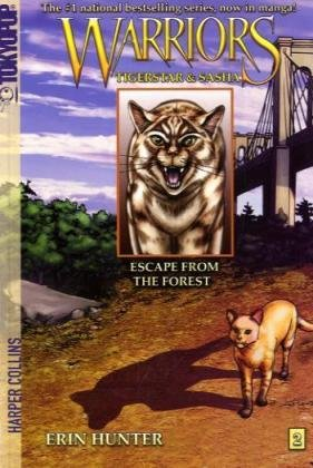 Cover of Escape from the Forest (Warriors: Tigerstar and Sasha, No. 2)