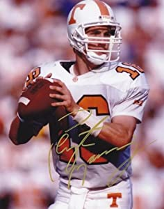 Peyton Manning Autographed Hand Signed Tennessee Volunteers 8x10 Photo by Real+Deal+Memorabilia