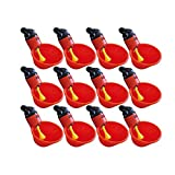 Good news 12 Pcs Automatic Chicken / Poultry Drinkers / Waterers with Cups