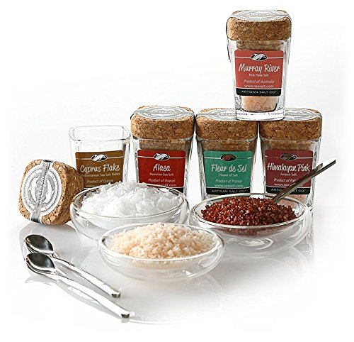 Limited Edition Artisan Salt Sampler - Classic (Artisan Smoked Salt compare prices)