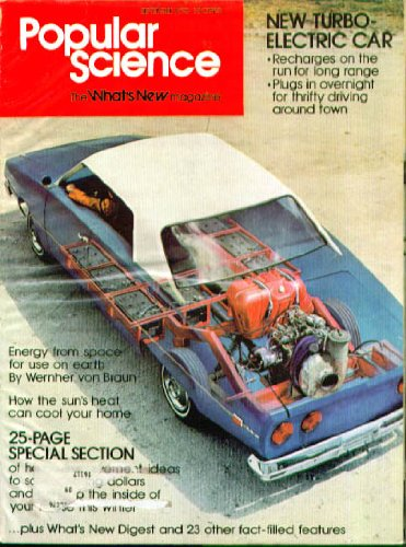 Popular Science 1975 Mercury Bobcat Astre Alfa Alfetta Tests; Hybrid Cars 9 1975