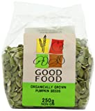 Good Food Pre-packed Organic Pumpkin Seeds (Pack of 5)