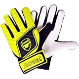 Official Football Merchandise - Guanti da portiere da bambino (taglia a scelta tra bambino e ragazzo)