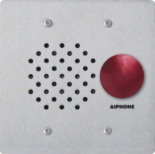 Aiphone LE-SSR Vandal- and Weather-Resistant Two-Gang Door Station For Use with AP-M, LAF-C, LDF, LEF, LEM, and MP-S Series Intercom Systems