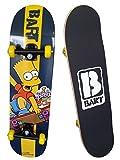 Bart Simpson 808950 - monopatín para principiantes