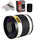 Opteka 500mm/1000mm f6.3 HD Telephoto Mirror Lens for Sony E-Mount a7r, a7s, a7, a6000, a5100, a5000, a3000, NEX-7, NEX-6, NEX-5T, NEX-5N, NEX-5R and NEX-3N Digital Mirrorless Cameras