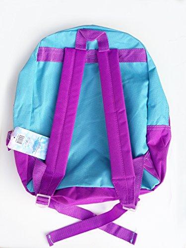 Disney Licensed Frozen Princess Elsa and Anna School Backpack - 1