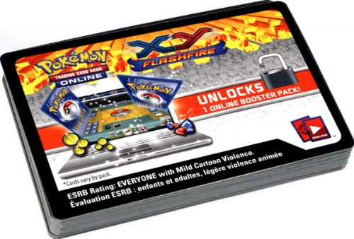 Pokemon Flashfire Promo Lot of 36 Code Cards