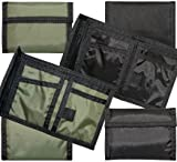 Rothco Nylon Commando Wallets - in your choice of Black or Olive Drab