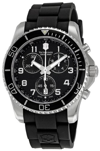 Victorinox Swiss Army Men'S 241431 Maverick Black Dial Watch