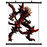 ".Hack// Anime Game Fabric Wall Scroll Poster (32"" X 42"") Inches"