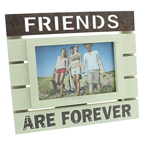 new-view-wooden-panel-photo-frame-6x4-friends-are-forever