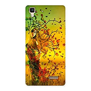 Forest Angel Back Case Cover for Oppo R7