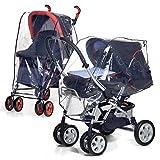 Protector impermeable para carritos de bebé / Cochecitos bebé - Protección contra lluvia y mal tiempo mws1205