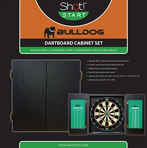 Shot! Start Bulldog All-In-One Dart Center (Bulldog Dart Board compare prices)