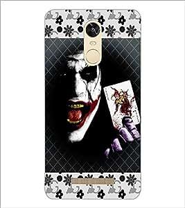 PrintDhaba Joker D-5102 Back Case Cover for XIAOMI REDMI NOTE 3 PRO (Multi-Coloured)