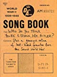 Dads Army songbook: Who do you think youre kidding, Mr. Hitler? : the theme from the BBCTV series : plus a generous ration of best-loved favourites from the Second World War