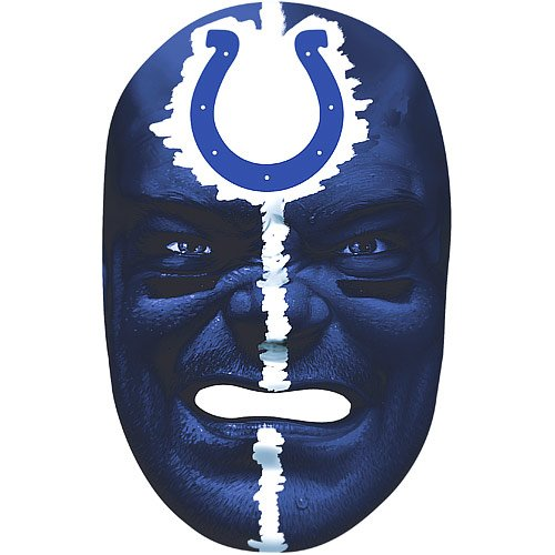 NFL Colts Fan Face