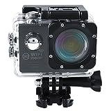 Cido Actionkamera Outdoor Wifi Sportkamera, Full-HD-DVR, 1080p-Video, 12MP Auto-Recorder Tauchen...