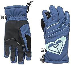 Roxy SNOW Junior's Popi Snow Gloves, Ensign Blue, Large