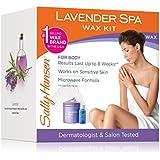 Sally Hansen Lavender Spa Wax Remover Kit For Body