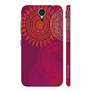 Enthopia Designer Hardshell Case Sun Dance Back Cover for Meizu MX5