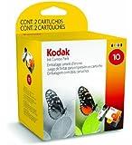 2 Cartouche d'encre pour Imprimante Kodak Easyshare 5300 - Noir / Colour