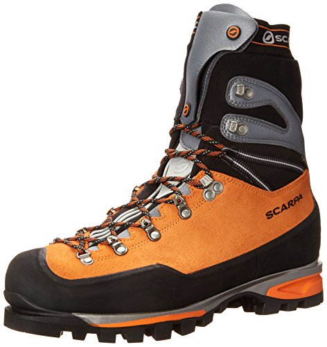 Scarpa Men's Mont Blanc Pro GTX Mountaineering Boot, Orange, 44.5 EU/11 M US (All Condition Gear Boots compare prices)