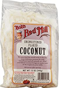 Bob's Red Mill Unsweetened Flaked Coconut, 12 oz