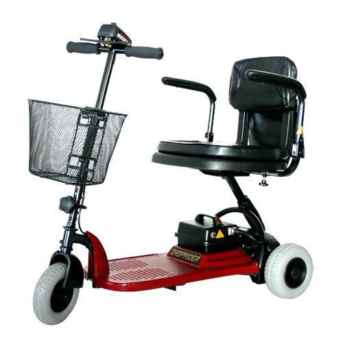 Echo 3 Wheel Scooter Color: Red