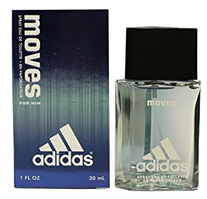 Adidas Moves By Adidas For Men. Eau De Toilette Spray 1.0 Oz / 30 Ml