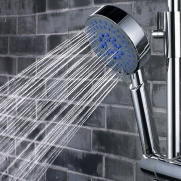 5 Mode Multi Function Chrome Adjustable Water Shower Head