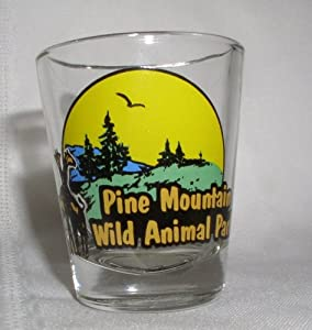 PINE MOUNTAIN WILD ANIMAL PARK SHOTGLASS