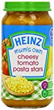 Heinz Mum's Own Cheesy Tomato Pasta Stars Jar 7 Months Plus 200 g (Pack of 6)