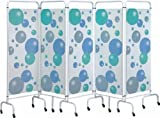 Sunflower Mobile Folding Privacy Screens 3 Panel Beige