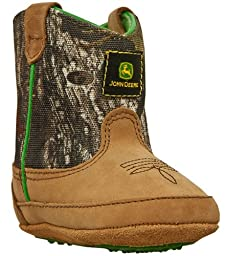 John Deere 188 Western Boot (Infant/Toddler),Camouflage,2 M US Infant