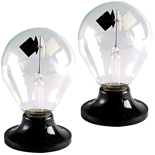 (Set of 2) Tedco Solar Engine Radiometer Sphere - Bright Light Bulbs (Set of 2) (Solar Engine compare prices)