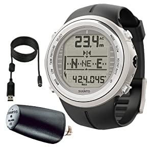 Buy Suunto Mens D9tx ELASTOMER W  TRANSMITTER AND USB Athletic Watches by Suunto