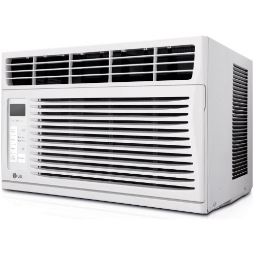 LG Electronics LW6014ER Vivacity Star 115-volt Window-Mounted Air Conditioner with Remote Control, 6000 BTU