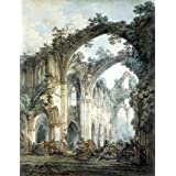 Transept of Tintern Abbey, by J.M.W. Turner (Print On Demand)