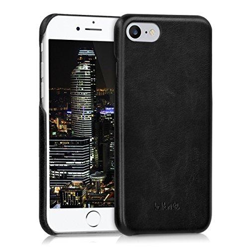 kalibri-Echtleder-Backcover-Hlle-fr-Apple-iPhone-7-Leder-Case-Cover-Schutzhlle-in-Schwarz