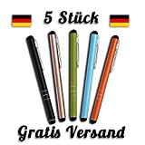 Mobilinyi 5 Stück Premium Eingabestift Touchstift Stylus...