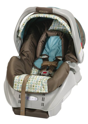 Graco SnugRide Classic Connect DLX Infant Car Seat, Oasis