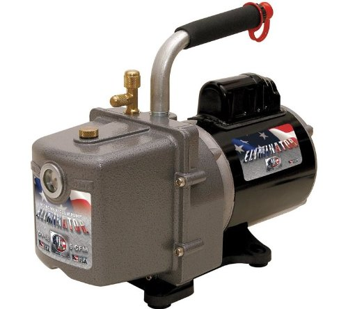 Jb Dv-6E 6 Cfm Eliminator Vacuum Pump, 115V/60Hz Motor, With Us Plug